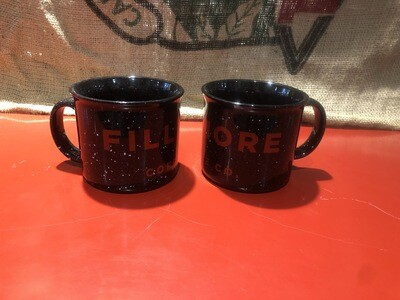 16oz Black/Red Fillmore Mug