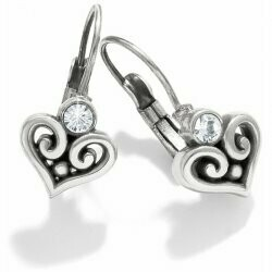 BRIGHTON ALCAZAR HEART LVRBK EAR JE6112