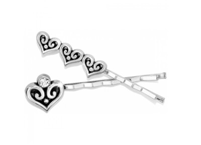 BRIGHTON Alcazar Heart Bobby Pin Set