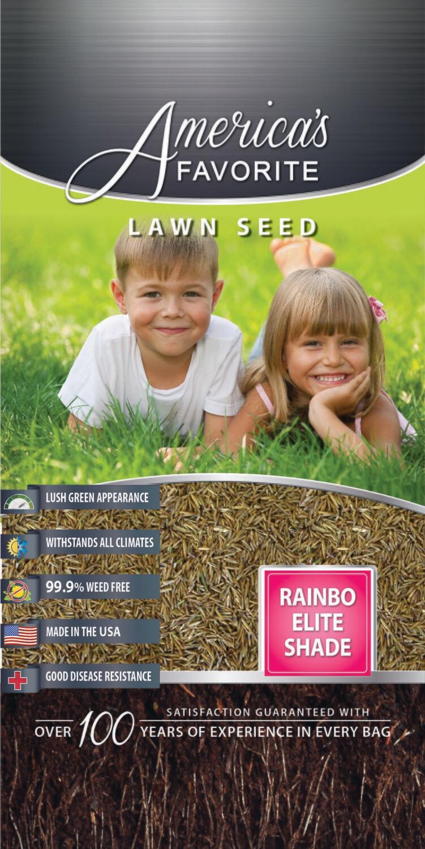 Grass Seed Rainbo Elite Shade Mix