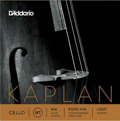 D'Addario Kaplan Cello Strings