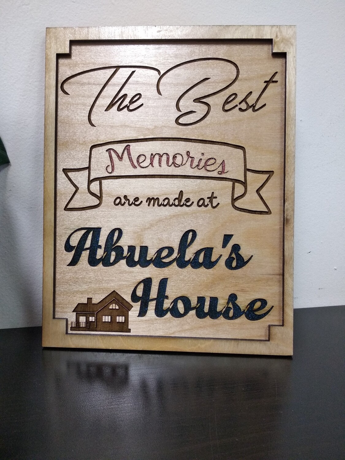 Abuela's House Sign