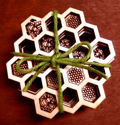 Coasters - Honeycomb Collection