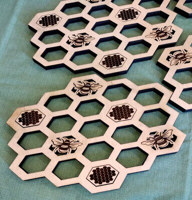 Honeycomb Trivets