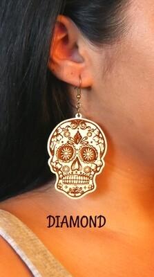 Earrings - Day of the Dead