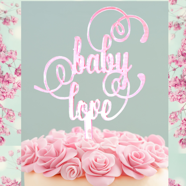 Cake Topper - Baby Love