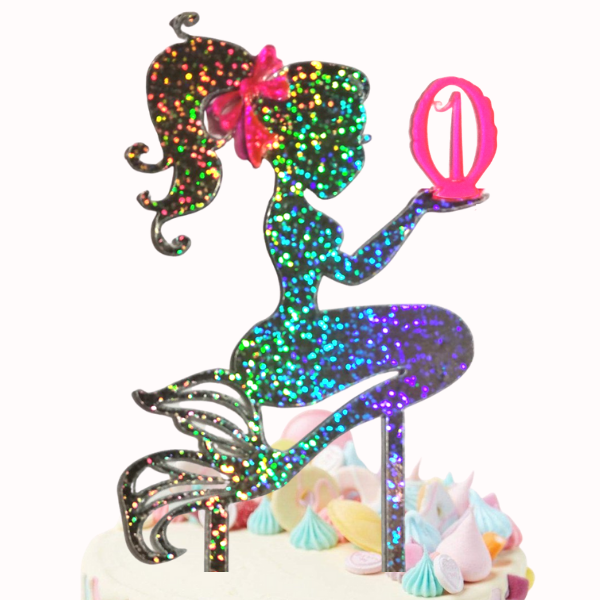Cake Topper - Little Mermaid