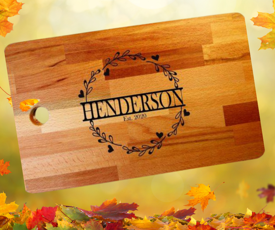 Cutting Boards & Coasters - Personalized - Custom Engraved