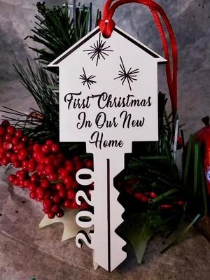 Ornament - Christmas - Realtors' Gift - Minimum Set of 5