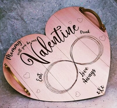 Valentine Tray for Mommy