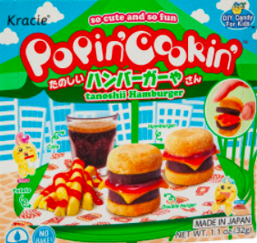 Popin' Cookin'- Hamburger