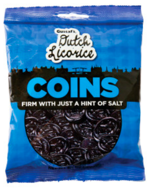 Gustaf's - Dutch Licorice Coins