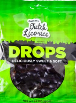 Gustaf's - Dutch Black Licorice Drops