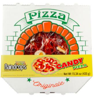 Raindrops - Candy Pizza, jumbo 15.34oz