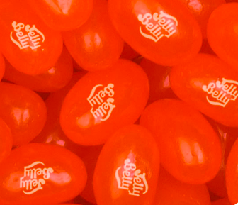 Jelly Belly Beans -- Orange Crush