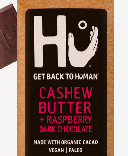 Hu - Bar, Cashew Butter & Raspberry