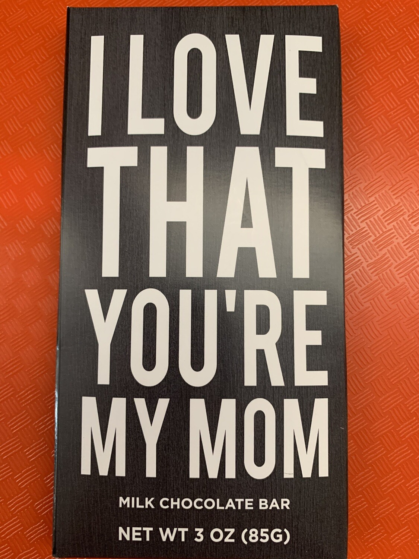 Amusemints - Love That You're My Mom, milk chocolate bar