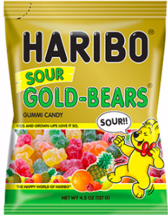 Haribo - Sour Goldbears