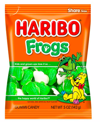 Haribo - Frogs