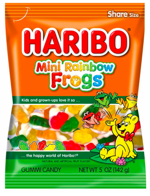 Haribo - Rainbow Frogs