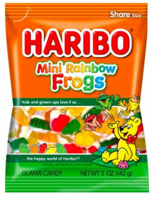 Haribo - Rainbow Frogs