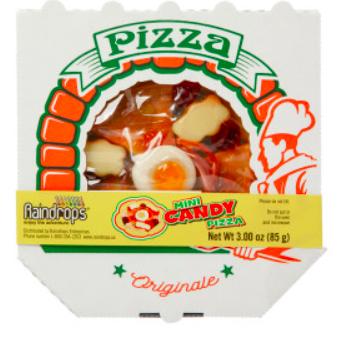 Raindrops - Mini Gummy Pizza 3oz