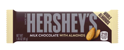 Hershey's - Milk Chocolate Almond