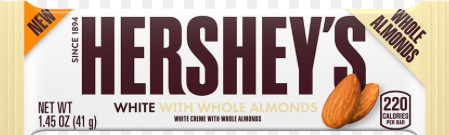 Hershey's - White with Almonds