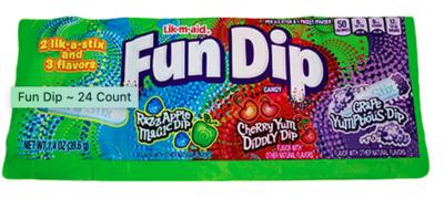 Fun Dip - 1.4oz assorted