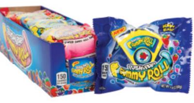 Push Pop - Gummy Roll