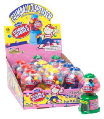Kidsmania - Dubble Bubble Mini Gumball Dispenser