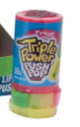 Push Pop - Triple Power