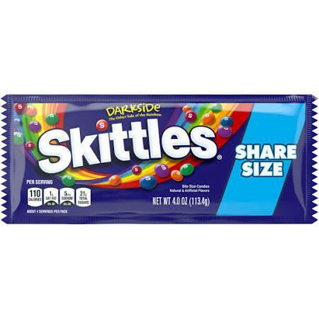 Skittles - Dark Side Share size