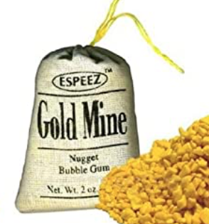 Gold Mine Nugget Gum