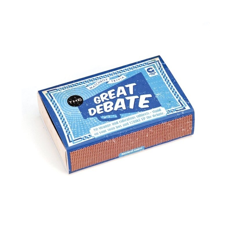Matchbox Trivia - The Great Debate