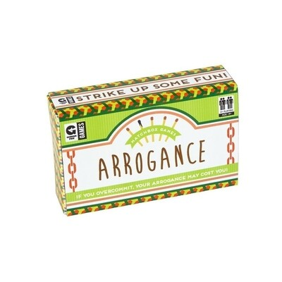 Matchbox Trivia - Arrogance