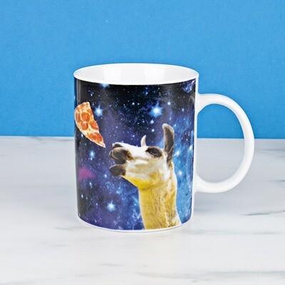 Mug - Llama in Space