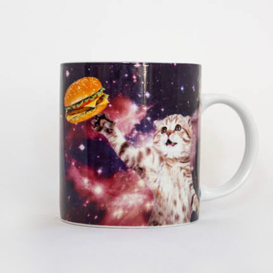 Mug - Cat in Space
