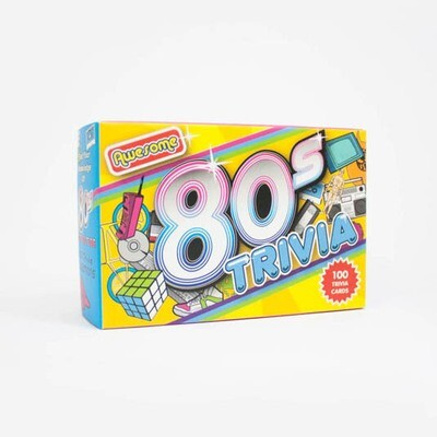 Trivia Cards - Awesome 80s