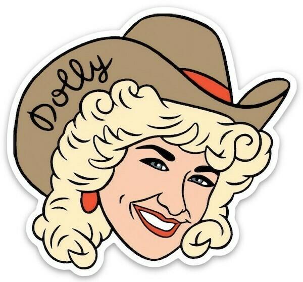 Die Cut Sticker - Dolly Parton
