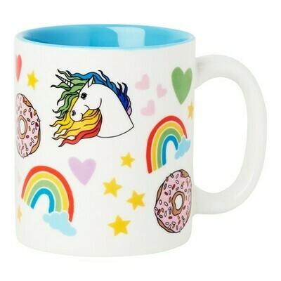 Mug - Unicorn Rainbow Donuts
