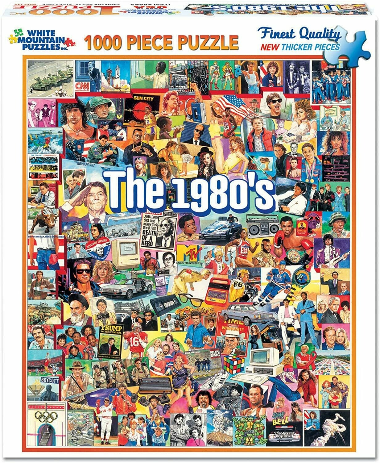 Puzzle - The 1980's