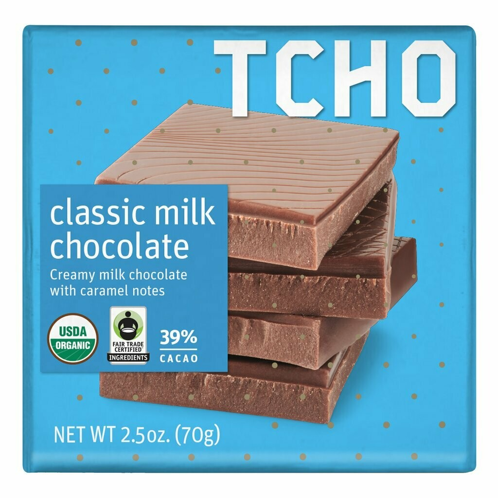 TCHO - Classic Milk Chocolate