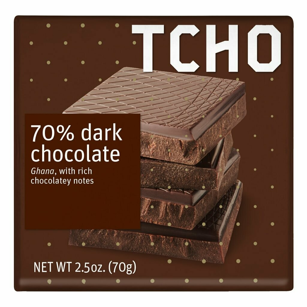 TCHO - 70% Dark Chocolate