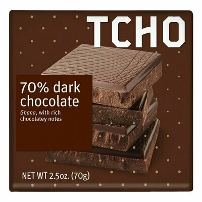 TCHO - 70% Dark Chocolate