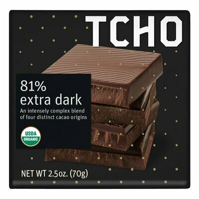 TCHO - 81% Extra Dark