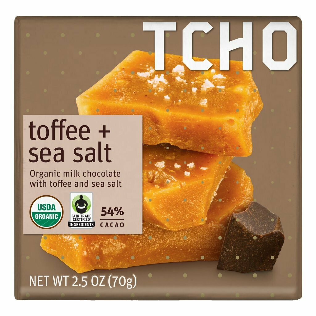 TCHO - Toffee Sea Salt