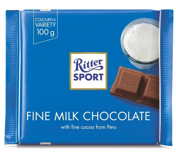 Ritter Sport - Fine Milk Chocolate 35%