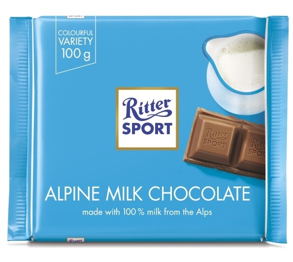 Ritter Sport - Alpine Milk Chocolate