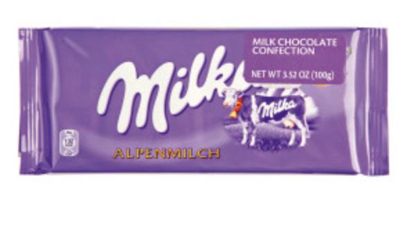 Milka Chips Alpenmilch